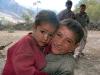 Dzieciaki w drodze do Askole