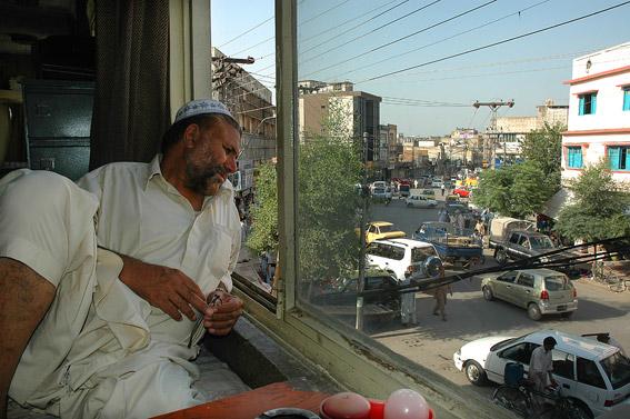Właściciel jednego z hoteli w Rawalpindi