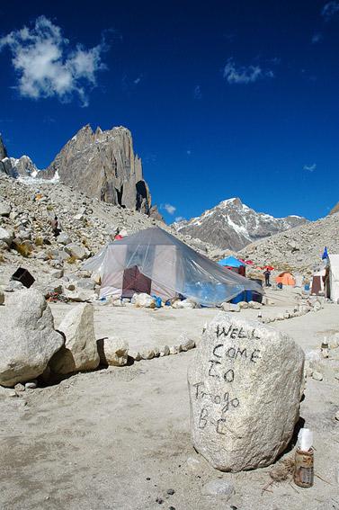 Welcome to Trango Base Camp