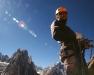 Kuba na stanowisku podczas przejścia Pretty Close na Sadu Peak