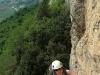 "Na drodze "" Tredicesima Luna""  (6a+/b) na Monte Colt"