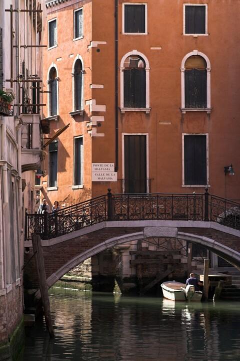 Weneckie kanały. Ciąg dalszy.