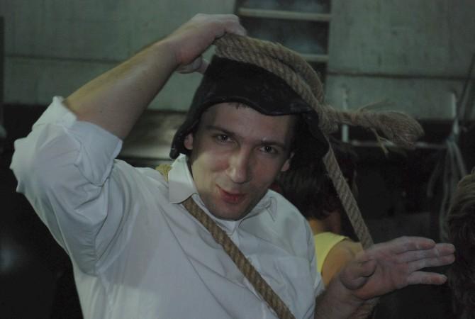 Eks-prezes prezentuje węzeł skrajny huculski