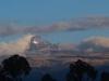 Pierwszy widok na Mt Kenia