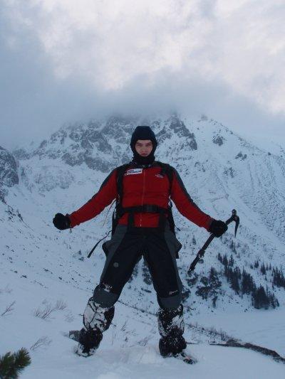 człowiek i góra