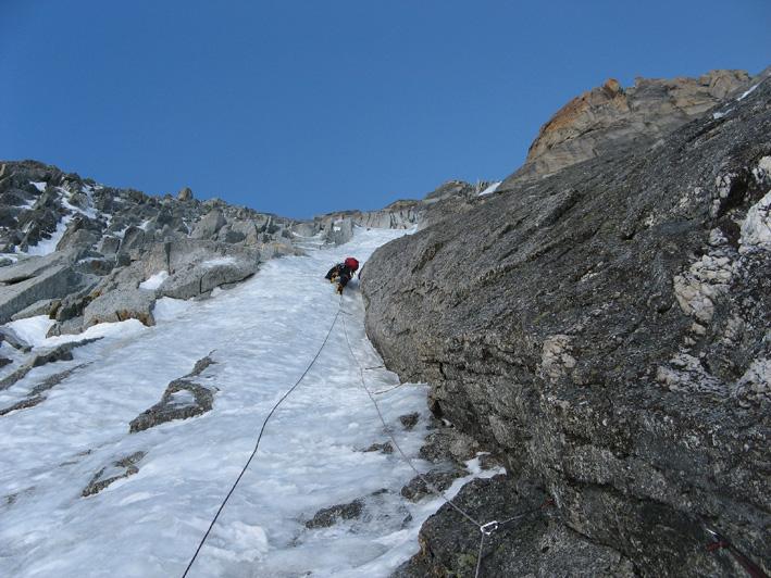 Wspinaczka na Le Ginat