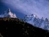 Aigulles des Chamonix od północy