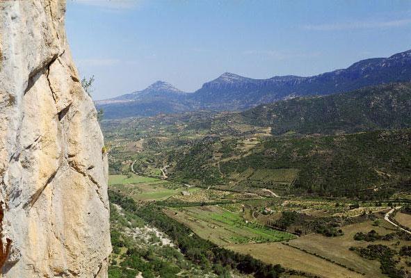 Widok z Monte Oddeu
