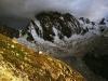 Północna sciana Grandes Jorasses