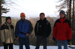 Kasia, Tomek, Romek i Przemek Schab - sędzia głowny.