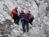Nasza ekipa podczas pierwszego w tym roku wyjazdu w skałki