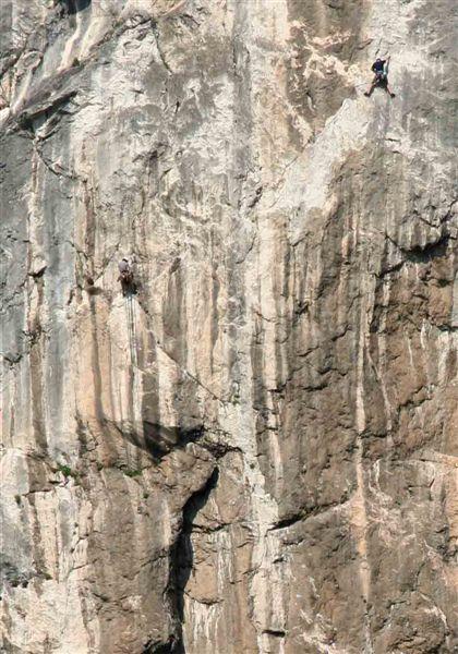 Wspinaczka na Colodri