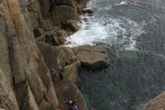 BMC International Sea Cliff Climbing Meet