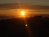 Zachód słońca na plaży L'Espiguette