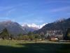 Szwajcaria widok na Eiger
