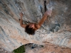 Stefan Madej na Les Chacals 8b, 2
