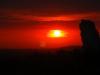 Gorący zachód słońca - Rzędkowice - Grzegorz Gawryszewski