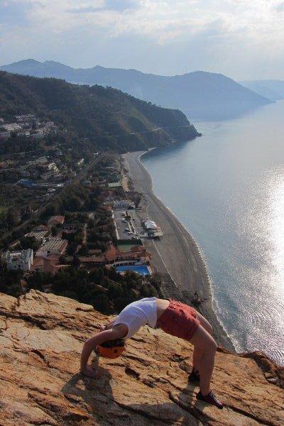 Gimnastyka w skałach - Ewa Affek