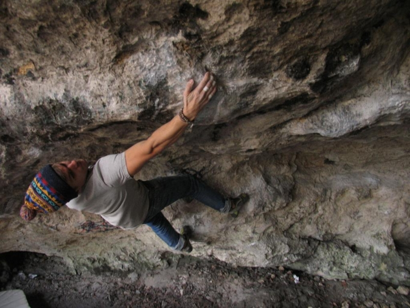 Jesienny buldering 2 - Marcin Suchar