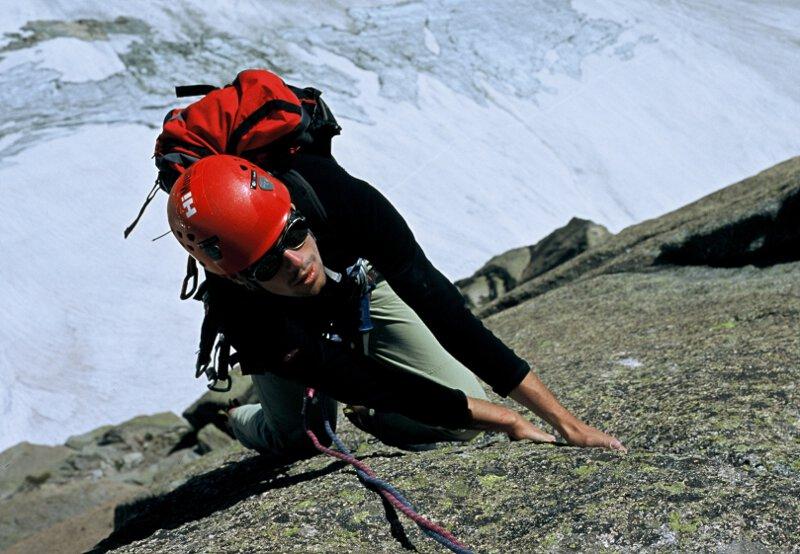 2004-07 Alpy Francuskie. Igly Chamonix, na Chloe na Tou Rouge. Fot. Wojtek Ryczer