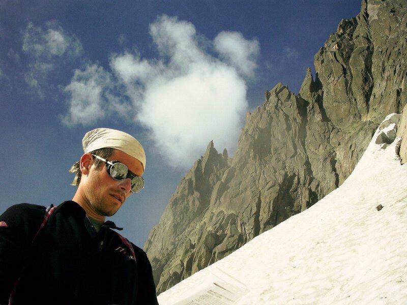 2005-08 Alpy Francuskie. Poludniowe Igly Chamonix. Fot. Marcin Nowogródzki