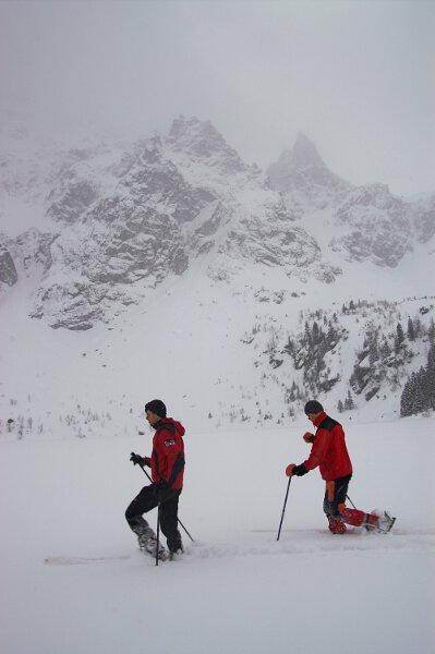 2006-02-01Tatry, na skiturach z Marcinem Malka. Fot. Wojtek Ryczer