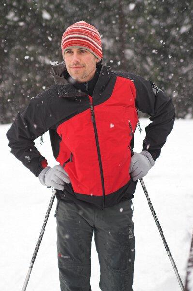 2007-02-26 Alpy Francuskie, skitury w dolinie Argentiere. Fot. Wojtek