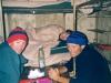 2001 Dolomity. Z Filipem Reinhardem i Anią Podkowińską. Fot. Paweł Jakubczyk