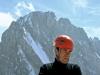 2004-07 Alpy Francuskie, na szczycie Malych Zorasow po zrobieniu Anouk. Fot. Wojtek Ryczer