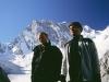 2005-08 Alpy Francuskie. Filar Walkera - obraz kleski. Z Pawłem Fidrykiem. Fot. Michał Kaspowicz