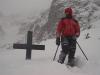 2006-02-01Tatry, na skiturach, próg Czarnego stawu. Fot. Wojtek Ryczer