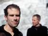2006-07-01 Alpy Francuskie, w zejściu z Grandes Jorasses po przejsciu Filara Walkera. Z Marcinem Ksiezakiem. Fot. Wojtek Ryczer