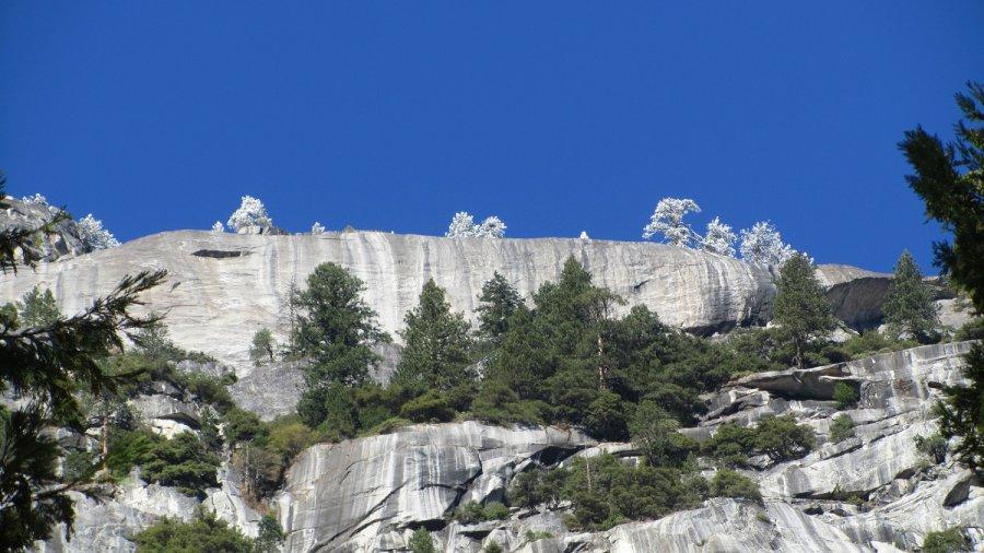 Yosemity - nagły atak zimy