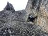Maciek na Kosińskim, którego zakończył efektownym 10-metrowym lotem