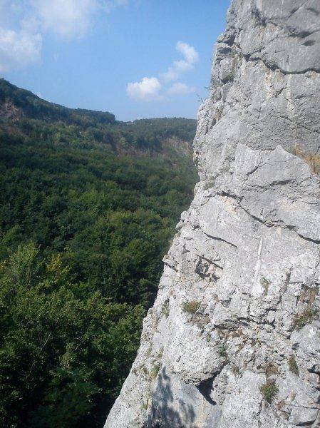Widok z Trandafuru Salbatic, Zona Gasparu Mic