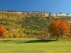 KRAJOBRAZY złota słoweńska jesień