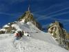 Masyw Mont Blanc, Aiguille du Midi_Trochę za wysoko jest._Zjedziemy i będzie dobrze.