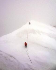 Ostatnie metry przed szczytem (zasoby Tagas)